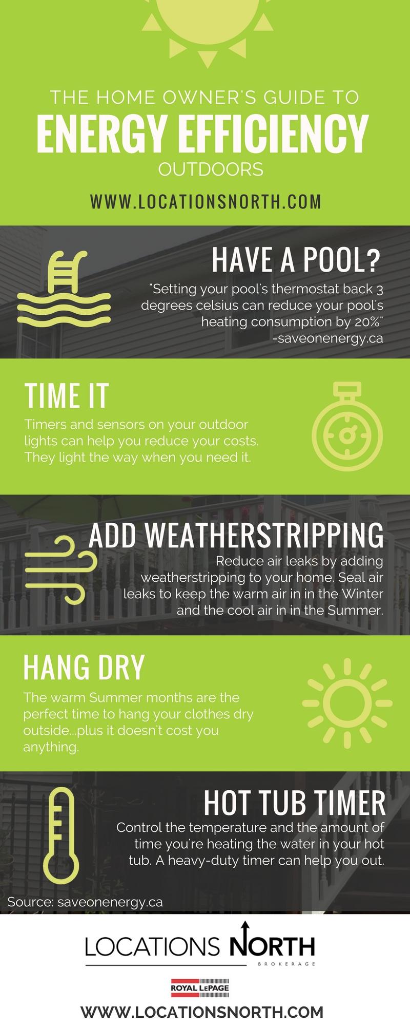 energy saving outdoors