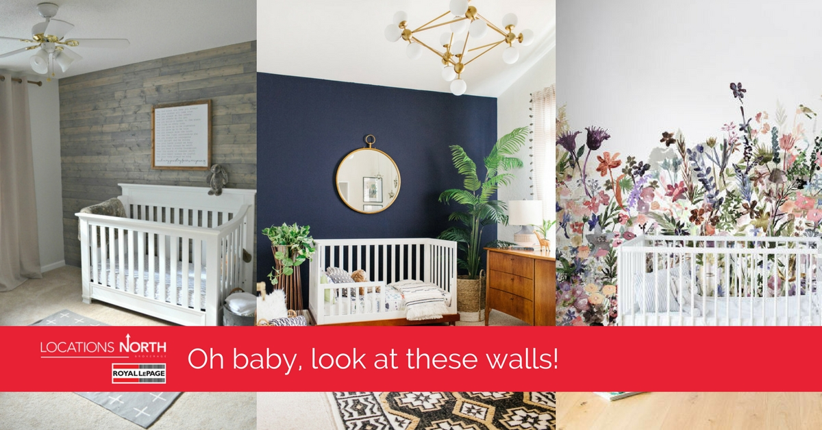 Home Decor | Cute U0026 Comforting Nursery Feature Walls