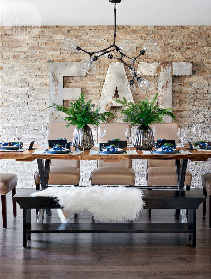 Style at Home dining rooms