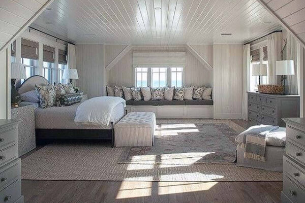 Beautiful, spacious master suite