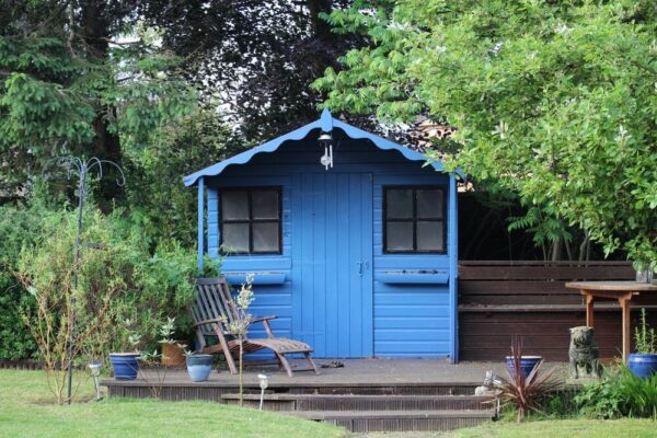 Move Over Man Cave, Make Room For The She Shed