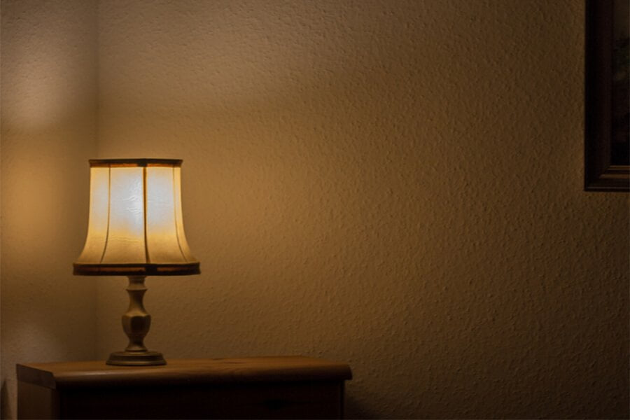 Avoid Dark Rooms during an Open House